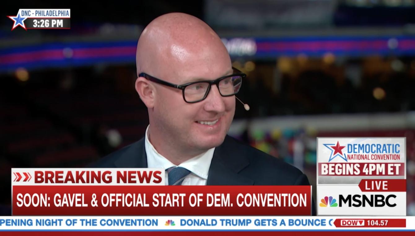 Dan Kanninen appearing on MSNBC